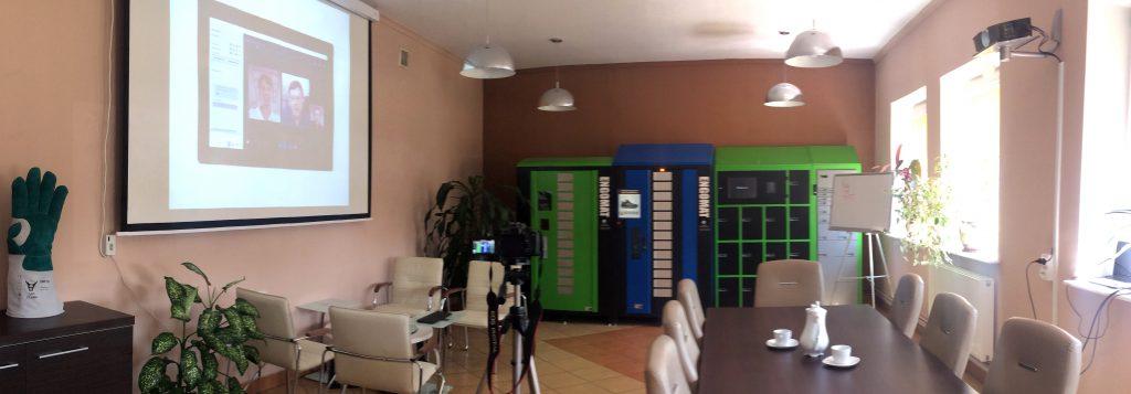 specjalnie przygotowana sala do prezentowania automatów
