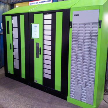 automaty wydające narzędzia
