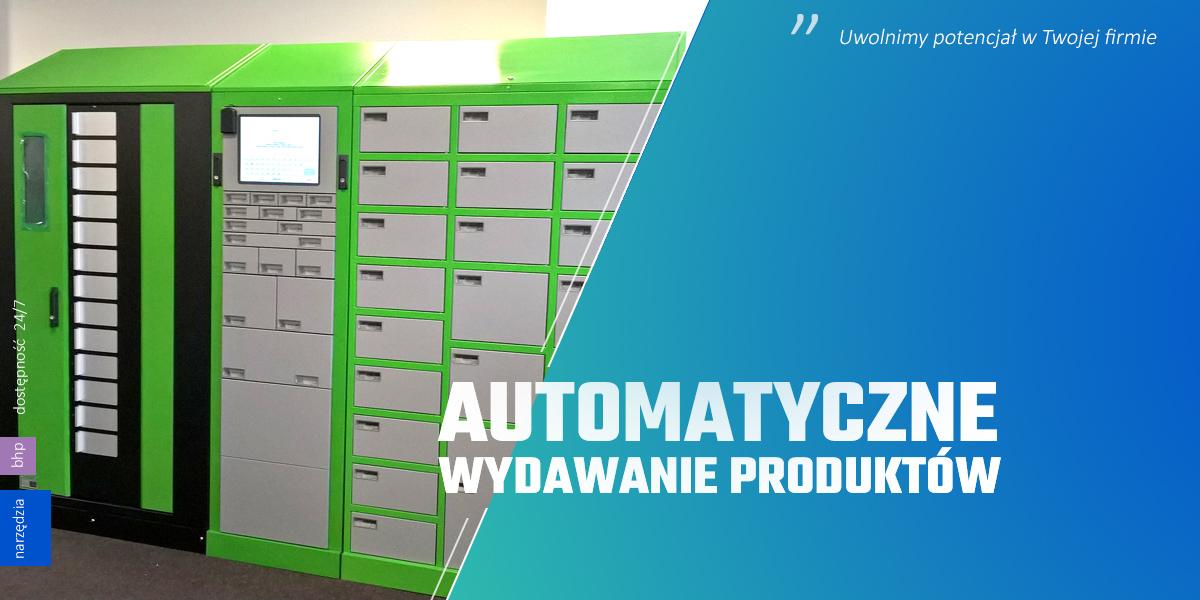 automatyczne wydawanie produktów